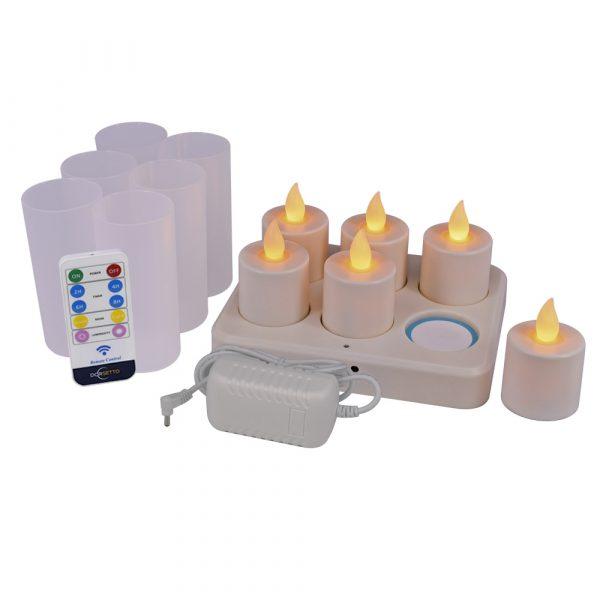 LED-Waxine-oplaadbaar dorsetto